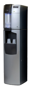 ION water filtration cooler with AquaStand